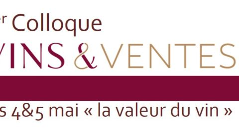 1er Colloque Vins&Ventes