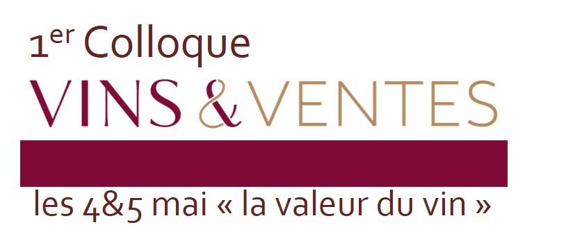 Restitution 1er Colloque Vins&Ventes