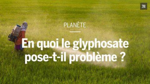Le glyphosate, comme un symbole
