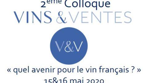 2ème colloque Vins&Ventes