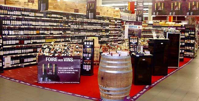 Foires aux vins Super U
